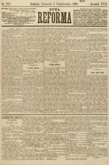 Nowa Reforma. 1898, nr228