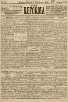 Nowa Reforma. 1898, nr231