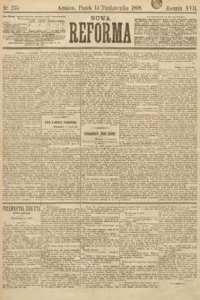 Nowa Reforma. 1898, nr235
