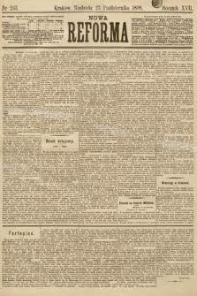 Nowa Reforma. 1898, nr243