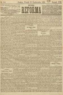 Nowa Reforma. 1898, nr244
