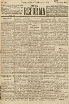Nowa Reforma. 1898, nr245