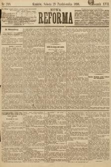 Nowa Reforma. 1898, nr248