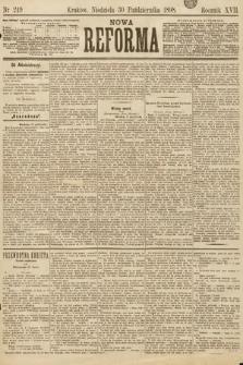 Nowa Reforma. 1898, nr249