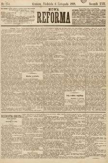 Nowa Reforma. 1898, nr254