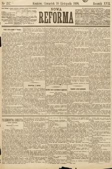 Nowa Reforma. 1898, nr257