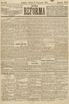 Nowa Reforma. 1898, nr259