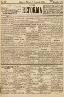 Nowa Reforma. 1898, nr261