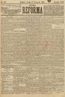 Nowa Reforma. 1898, nr262