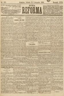Nowa Reforma. 1898, nr265
