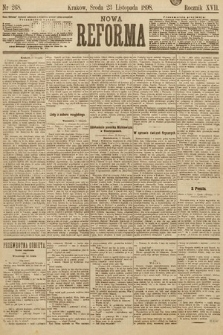 Nowa Reforma. 1898, nr268
