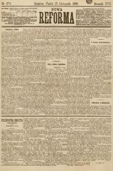 Nowa Reforma. 1898, nr270