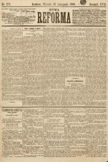 Nowa Reforma. 1898, nr273