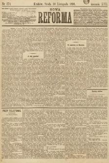 Nowa Reforma. 1898, nr274