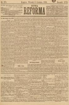 Nowa Reforma. 1898, nr279