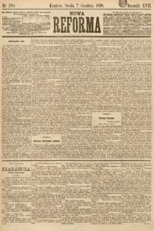 Nowa Reforma. 1898, nr280
