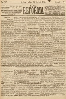 Nowa Reforma. 1898, nr282
