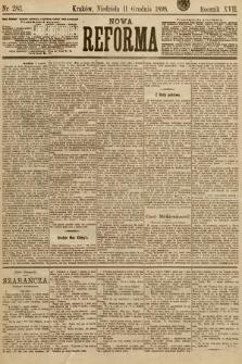 Nowa Reforma. 1898, nr283