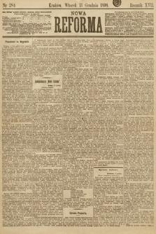 Nowa Reforma. 1898, nr284