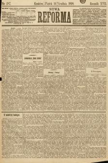 Nowa Reforma. 1898, nr287