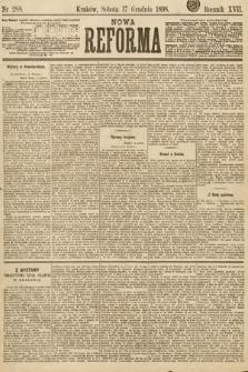 Nowa Reforma. 1898, nr288