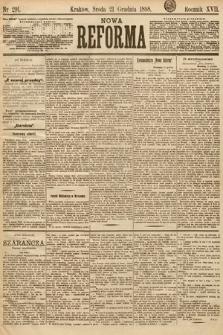 Nowa Reforma. 1898, nr291