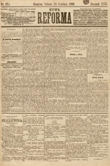 Nowa Reforma. 1898, nr294