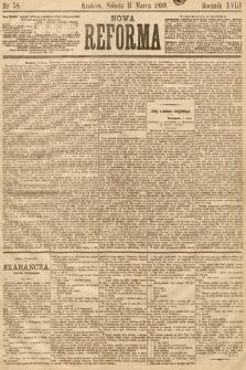 Nowa Reforma. 1899, nr58