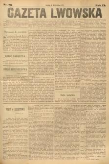 Gazeta Lwowska. 1883, nr 76