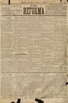 Nowa Reforma. 1901, nr1