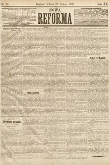 Nowa Reforma. 1901, nr45