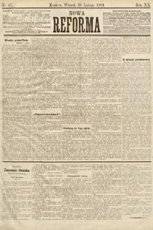 Nowa Reforma. 1901, nr47