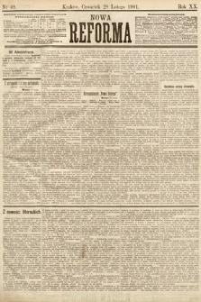 Nowa Reforma. 1901, nr49
