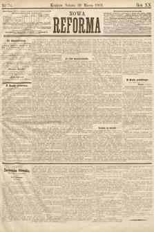 Nowa Reforma. 1901, nr74