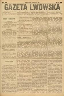 Gazeta Lwowska. 1883, nr 98