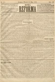 Nowa Reforma. 1901, nr115