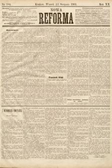 Nowa Reforma. 1901, nr184