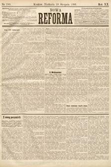 Nowa Reforma. 1901, nr188