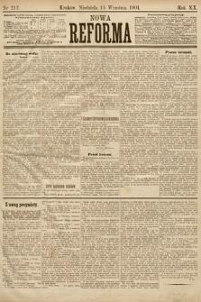 Nowa Reforma. 1901, nr212