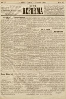 Nowa Reforma. 1901, nr215