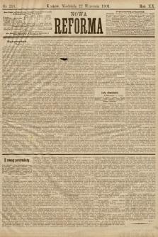 Nowa Reforma. 1901, nr218