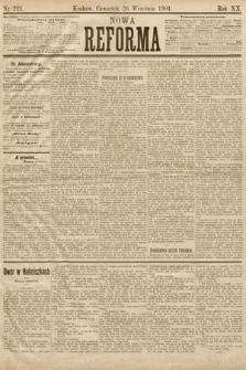 Nowa Reforma. 1901, nr221