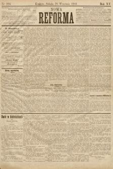 Nowa Reforma. 1901, nr223