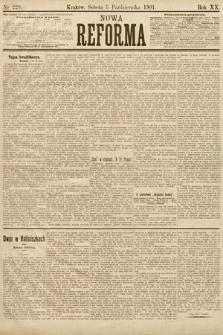 Nowa Reforma. 1901, nr229