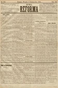 Nowa Reforma. 1901, nr231