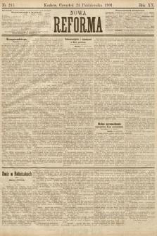 Nowa Reforma. 1901, nr245