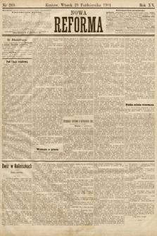 Nowa Reforma. 1901, nr249