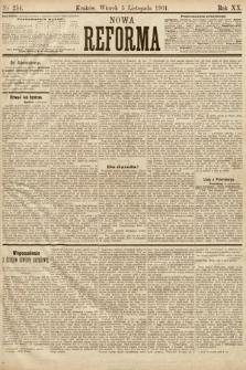 Nowa Reforma. 1901, nr254