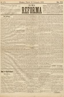 Nowa Reforma. 1901, nr275