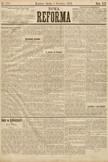 Nowa Reforma. 1901, nr279